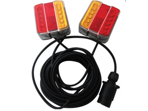 Magnetic Taillights